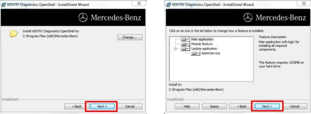 How to Installation Mercedes_Benz star diagnostic tool
