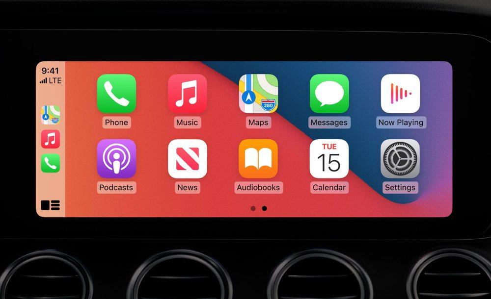 iOS14 CarPlay